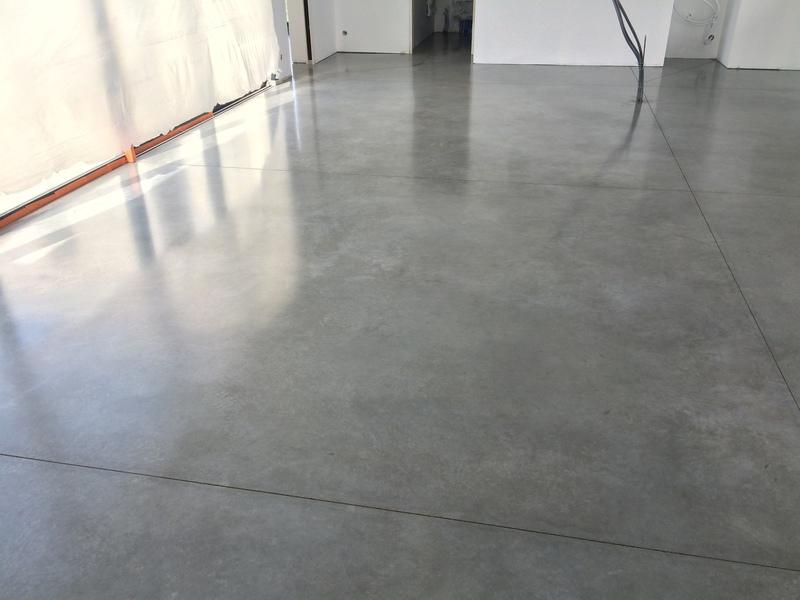 Solendur sols b ton cir b ton cir - Epaisseur beton cire ...